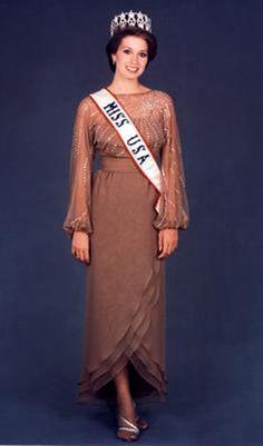 Miss USA 1982 - Terri Lea Utley - Arkansas
