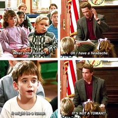 Kindergarten Cop - You know you just said that in his voice.