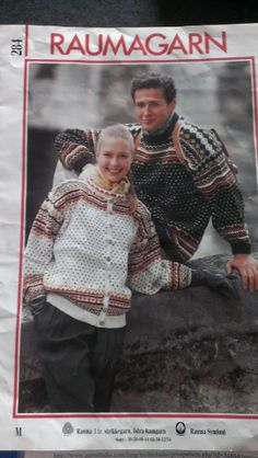 Rauma 284 Norwegian Knitting, Jumpers, Patterns, Jackets, Clothes, Block Prints, Down Jackets, Outfit, Patrones