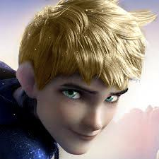 Jack frost as a blonde with green/blue eyes.