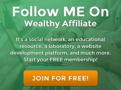 Turn your passion to profits and JOIN FOR FREE TODAY!!!   Click HERE.....https://www.wealthyaffiliate.com/?a_aid=9a27b897