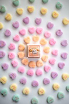 one carat cushion shaped diamond engagement ring