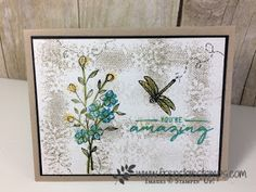 Touch of Textures, Color with Wink of Stella, Stampin'Up!, Frenchiestamps
