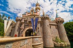 Disney Land Sleeping Beauty's Castle