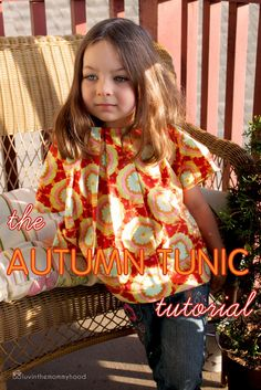 luvinthemommyhood: The Autumn Tunic Tutorial - Celebrate Color!Size 4-5 with free pattern