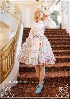 classic rococo lolita jsk