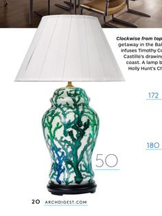 Love this lamp for master lounge room