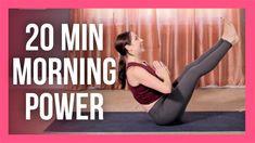 20 min Morning Power Yoga Flow - Intermediate Morning Yoga