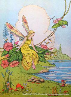 1945 Dorothy Mays illustration