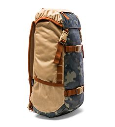 Nixon Landlock Backpack II – Khaki & Surplus Camo