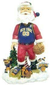 New York Knicks Santa Claus Forever Collectibles Bobble Head  https://allstarsportsfan.com/product/new-york-knicks-santa-claus-forever-collectibles-bobble-head/  Missing Attachment Forever Collectibles NBA Bobble Heads These are hand crafted and highly detailed collectible bobble head dolls. Santa is proudly wearing the teams jersey while reindeer and snowmen cheer him on from the sidelines and stands. They are 8″ tall and made of a sturdy resin material. They are limit