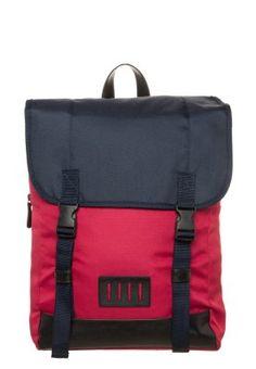 Plecak - red/navy