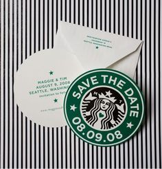 I love these save the dates!!