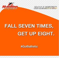 Fall seven times, get up eight! Some #Pumpday #motivation from @Ballisticlabs! #GoBallistic #WorkoutWednesday http://fb.me/87f7Sl7o2