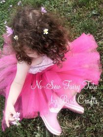 Party Printables | Party Ideas | Party Planning | Party Crafts | Party Recipes | BLOG Bird's Party: TUTORIAL: How to make a NO-SEW Fairy Tutu