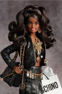 Looking for the Moschino Barbie Doll? Immerse yourself in Barbie history by visiting the official Barbie Signature Gallery today! Barbie Style, Barbie Blog, Girl Barbie, Barbie Fashionista, Beautiful Barbie Dolls, Vintage Barbie Dolls, Fashion Royalty Dolls, Fashion Dolls, Moschino