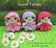 Ravelry: Sweet Fairy Dolls Amigurumi Crochet Pattern pattern by Sayjai Thawornsupacharoen