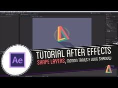 Tutorial Adobe After Effects: Shape Layers, Motion Trails e Long Shadow - YouTube