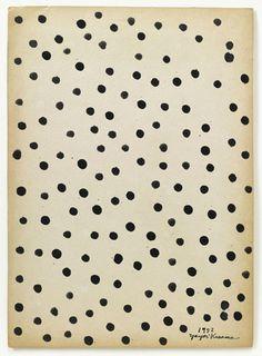 black and white - dots -Accumulation, 1952 - Ink on paperboard - Yayoi Kusama Yayoi Kusama, Illustrations, Illustration Art, Textile Patterns, Print Patterns, Pattern Art, Pattern Design, Art Brut, Back To Nature