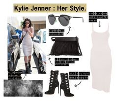 """""""Kylie Jenner : Her Style"""" by phoebie ❤ liked on Polyvore"""