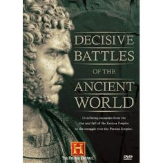 Decisive Battles of the Ancient World (History Channel) Herman The German, Hail Caesar, Ancient World History, Classical Antiquity, Warrior Queen, Spartacus, History Channel, Secret Life, New Testament