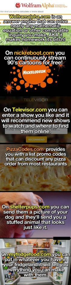 Some of the most useful websites on the Internet... - One Stop Humor: Funny Pictures and Videos!