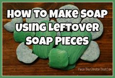 How to Make Soap Using Leftover Soap Pieces
