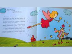 Pimpona a galinha tonta Children's Books, Story Books, 4 Years, The Moon, Amor