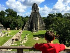 Guatemala with Kids: Take the Kids to Tikal! - globetotting.com  ||  Guatemala with Kids: The ancient Mayan site of Tikal is like one giant outdoor playground for kids. Here's our top tips on what to see and do. https://globetotting.com/guatemala-with-kids-tikal/?utm_campaign=crowdfire&utm_content=crowdfire&utm_medium=social&utm_source=pinterest
