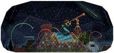 Los doodles de 'mujeres con ciencia' 1 de agosto de 2013: 195 aniversario del nacimiento de la astrónoma Maria Mitchell