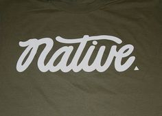 'Cali Native' Destination Verbiage Font