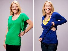 Milkstars = stylish breastfeeding apparel