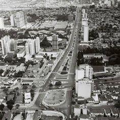 1971 - Avenida Faria Lima vista da Av. Europa para a Av. Rebouças