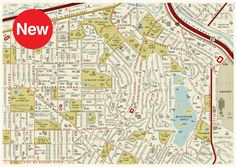 A street map made up of over 900 film titles including cinema classics such as Lost Highway, On the Waterfront, Jurassic Park, Reservoir Dogs, Carlito's Way, Nightmare on Elm Street, Valley of the Dolls and Chinatown.