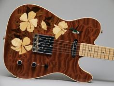 Since Fender's iconic Stratocasters, Telecasters and Precision & Jazz bass guitars have transformed nearly every music genre. Guitar Inlay, Guitar Art, Music Guitar, Cool Guitar, Playing Guitar, Fender Telecaster, Fender Guitars, Bass Guitars, Custom Electric Guitars