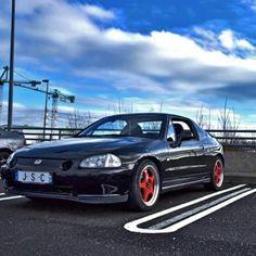#honda #crx #delsol #jdm #japan #car #vtec #mugen