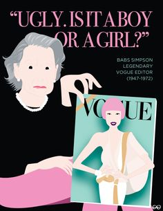 Babs Simpson, Vogue editor (lady gaga)