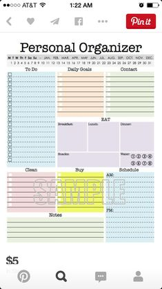 #Planners #Printables #Organizations