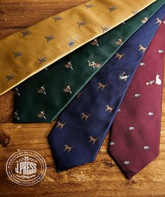 JOKE TIE / J.PRESS