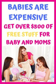 If you're looking for free stuff for baby and mom, this is the post for you! #free #baby #babyregistry #newborn #mom #pregnancy #babyshower