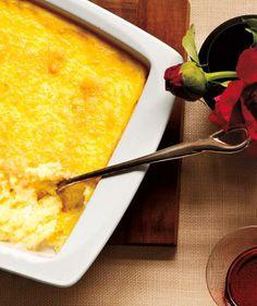 Creamy Baked Parmesan Polenta recipe