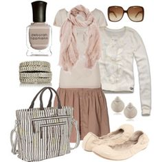 neutral pinks