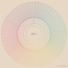 Round Calendar - Lene Mirdal