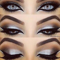 Pretty silver eyes.