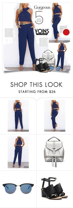 """YOINS"" by elly-852 ❤ liked on Polyvore featuring Yves Saint Laurent, yoins, yoinscollection and loveyoins"