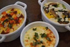 All Varieties of Baked Eggs by The Recipe Club, via Flickr