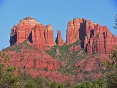 Sedona Arizona Only I could be sick in a place that is known for healing, but it was a gorgeous place and I hope to return someday.