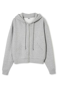 The Ailin Zip Sweatshirt has an oversized fit, a big hood with an adjustable drawstring inside, a zip along the frontand softly ribbed edges.- Size Small measures 128 cm in chest circumference and 62 cm in length. The sleeve length is 65 cm.