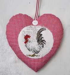 Heart with chicken by dutch-colours, via Flickr