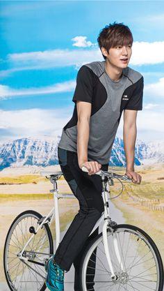 Lee Min Ho For EIDER's Spring & Summer 2014 Ad Campaign